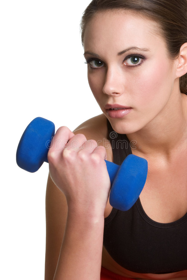 Download Fitness Woman stock photo. Image of sports, healthy, white - 8087076