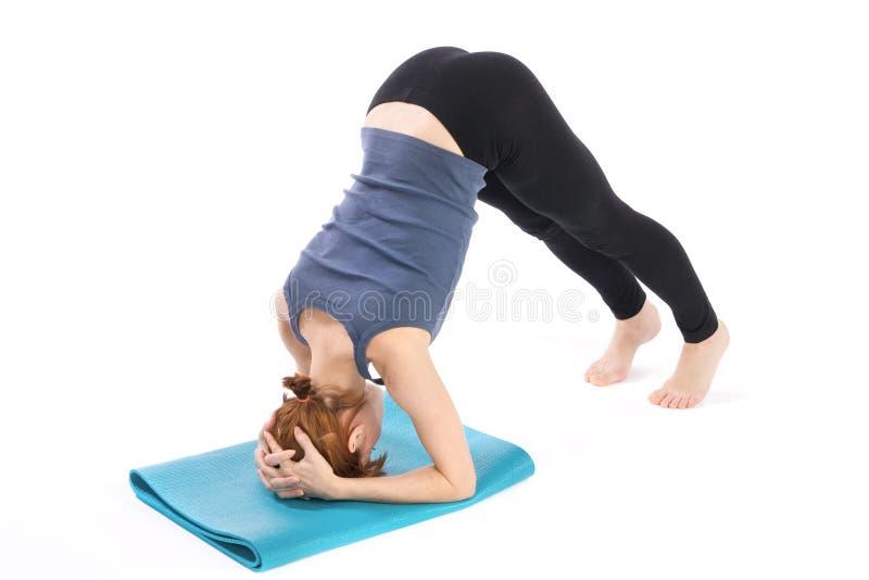 fitness woman royaltyfri foto