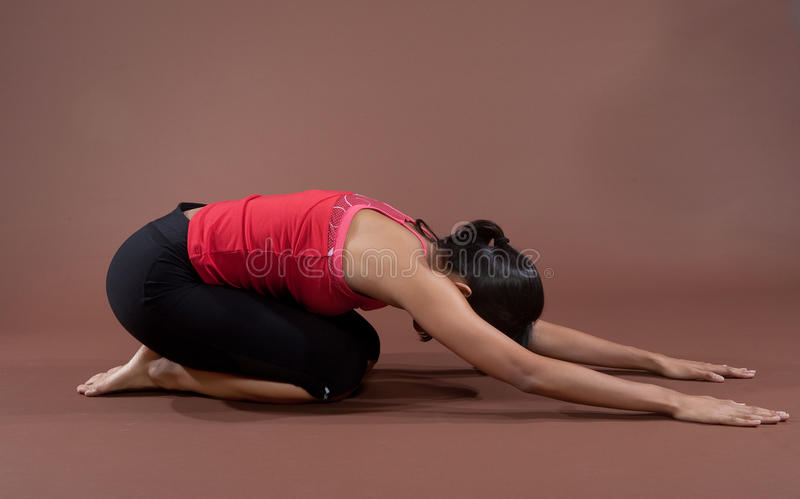 Download Fitness Woman Doing Stretching Exercises Stock Photo - Image: 10576784