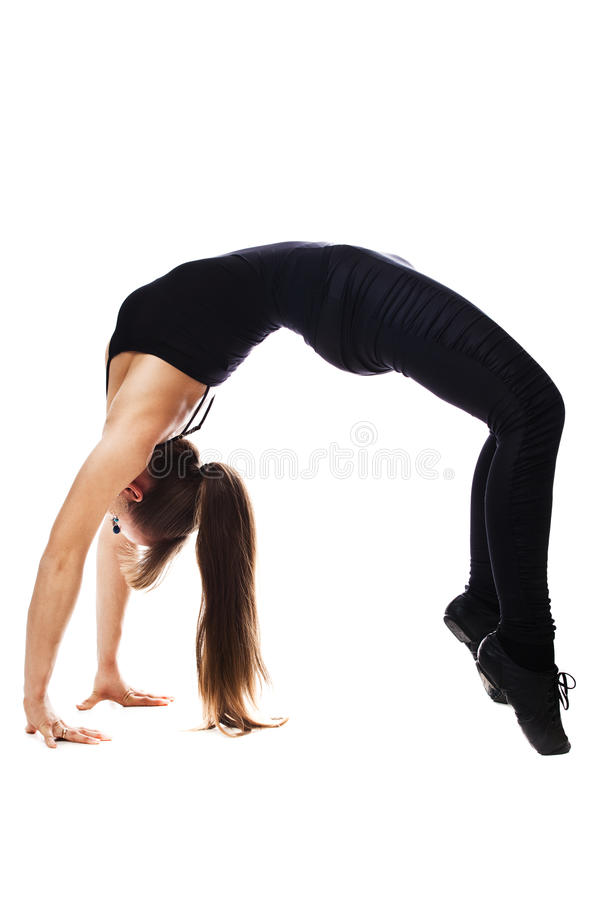 Download Fitness Woman Stretching Full Body Stock Photo - Image: 24153868