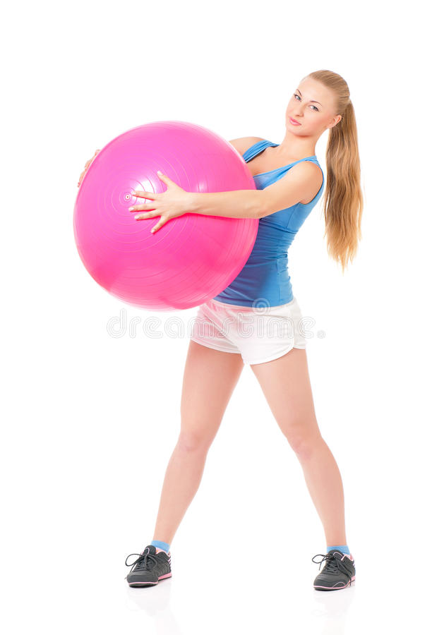 Download Fitness woman stock image. Image of attractive, healthcare - 39384329