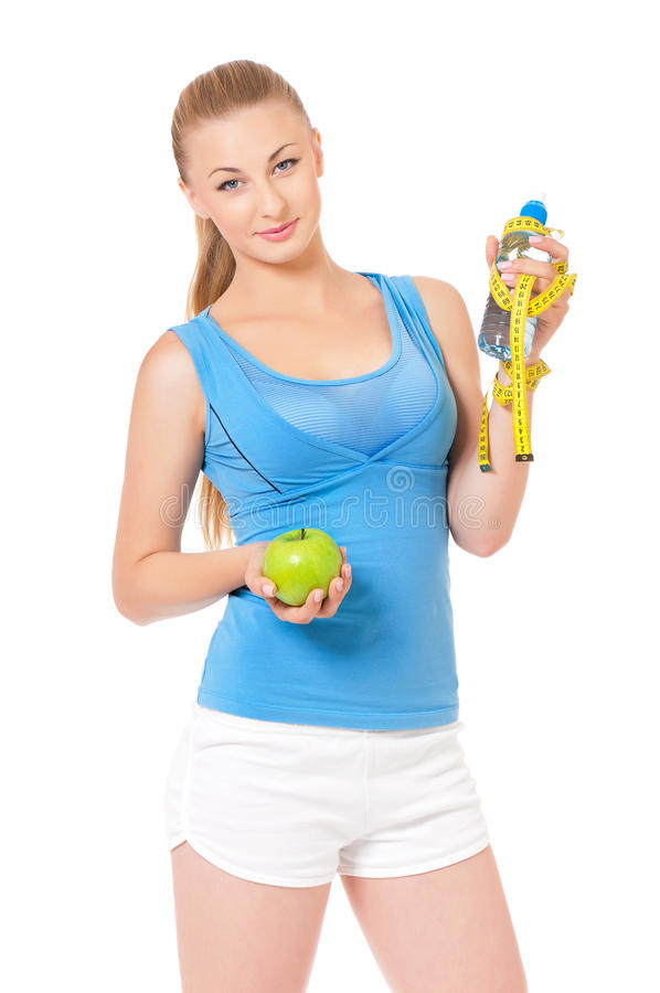 Download Fitness woman stock image. Image of person, portrait - 33942575