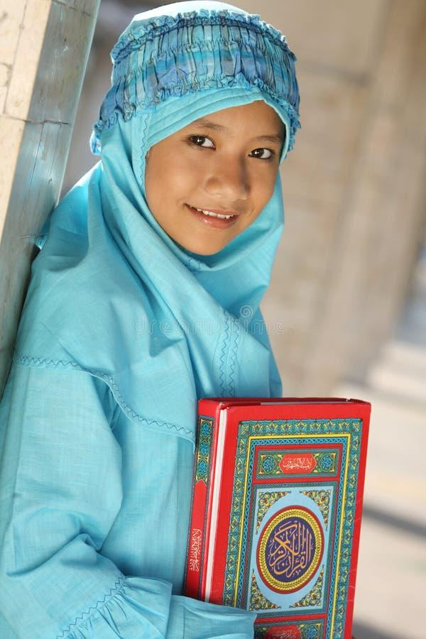 fitri dziewczyny idul muslim obraz royalty free