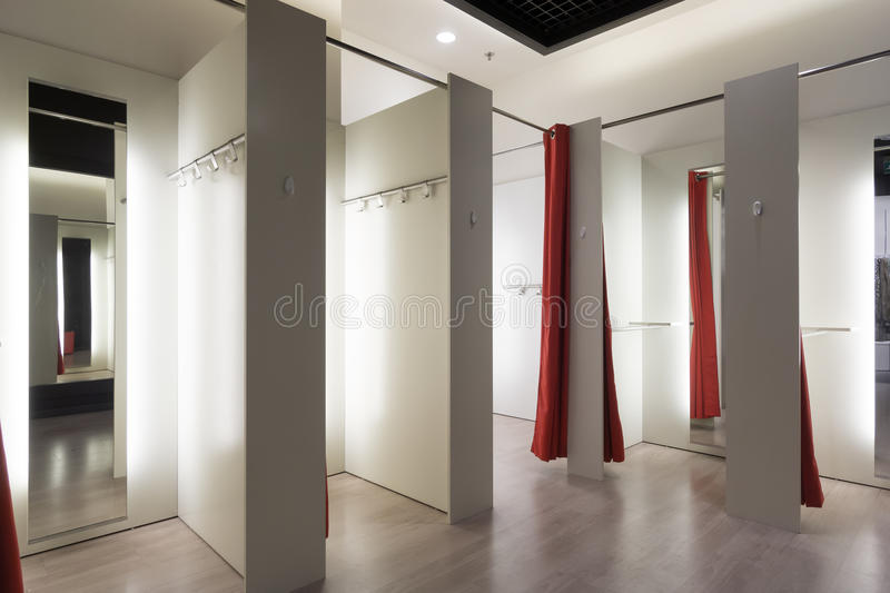 Fitting Room Interior Stock Image Image Of Store Mall