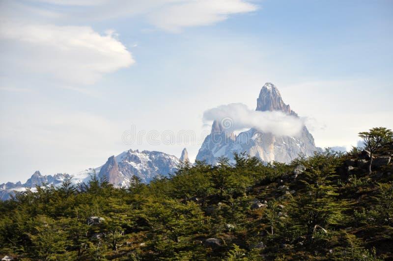 Fitz de Roy no Patagonia, Argentina fotografia de stock