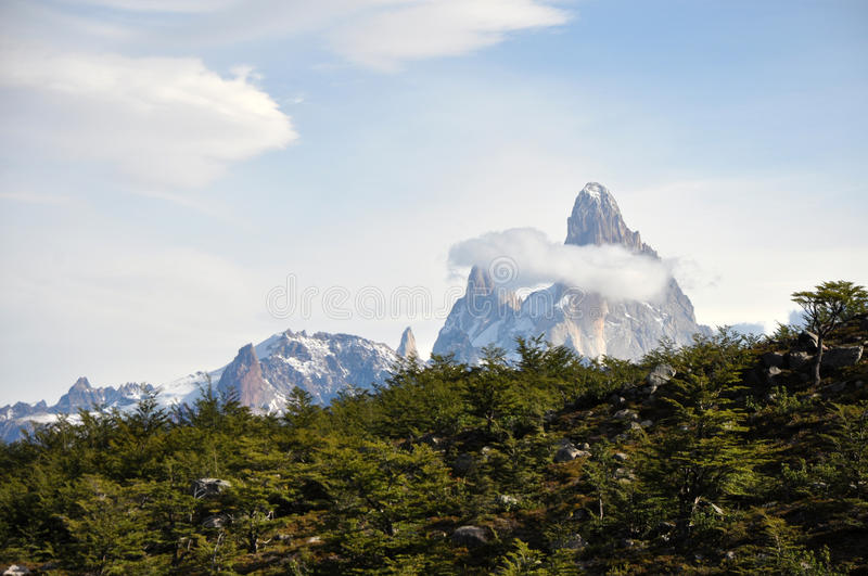 Fitz de Roy in Patagonia, Argentina stock photography