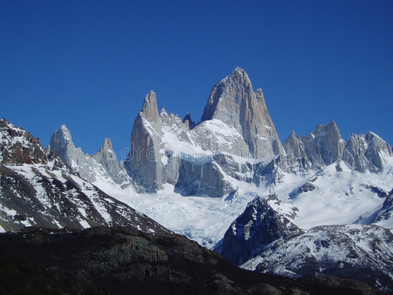 Fitz Roy royalty free stock photo