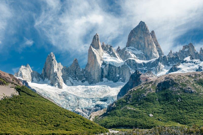 Fitz Roy-berg, Patagonië, Argentinië royalty-vrije stock fotografie