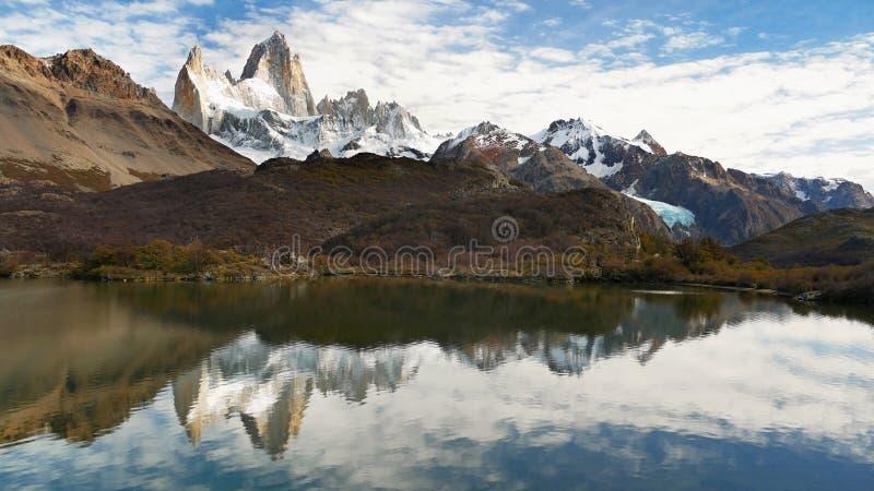 Fitz Roy peak. Argentina, Patagonia. royalty free stock images