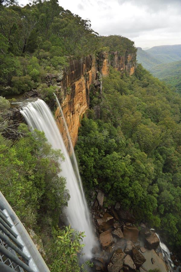 Fitzroy fällt Morton National Park lizenzfreie stockfotografie