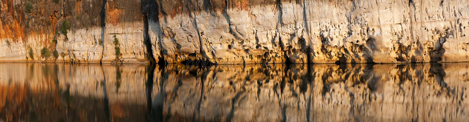Fitzroy Rive and Geikie Gorge. The Fitzroy River is located in the West Kimberley region of Western Australia. Geikie Gorge National Park is a national park in stock photos