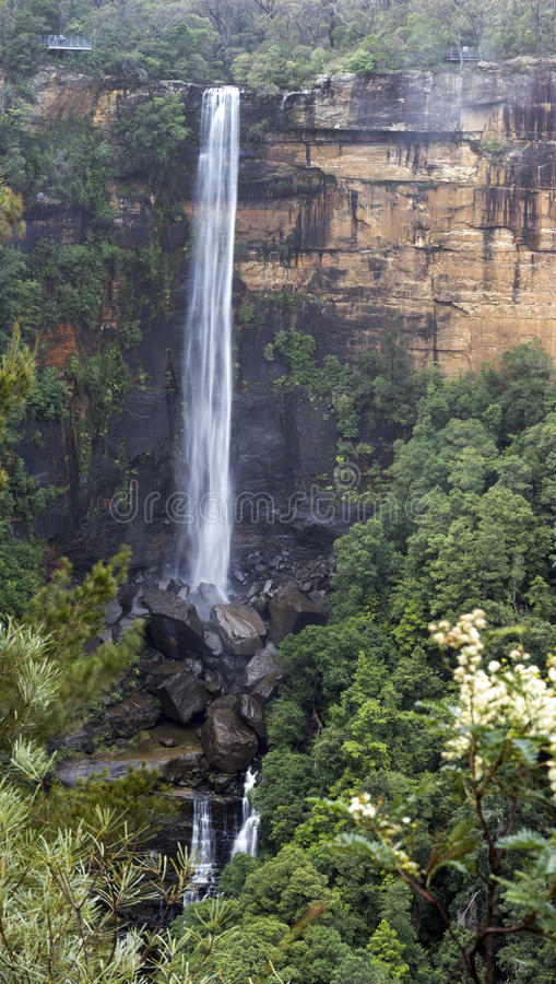 Fitzroywaterval in Morton National Park stock fotografie