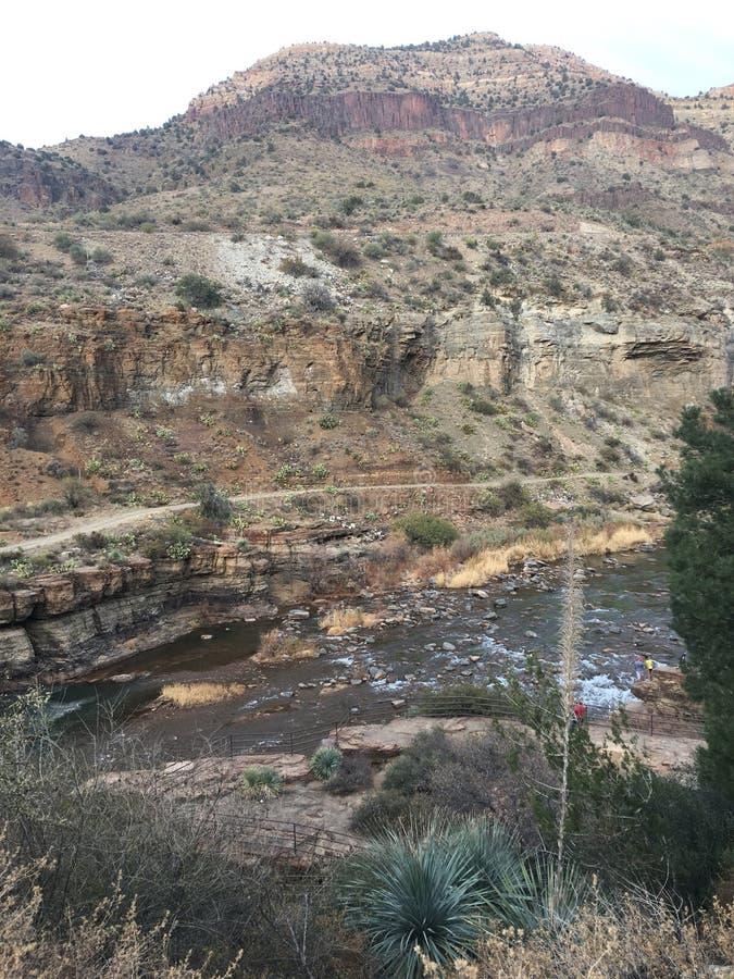 Fiume Arizona del sale immagini stock libere da diritti