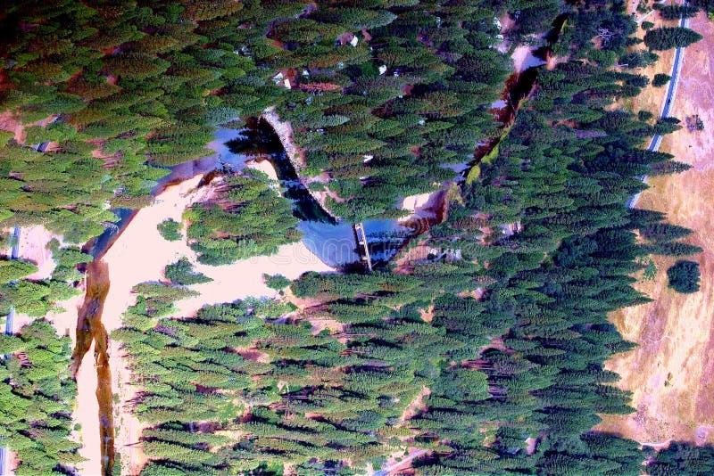 Fiume del Yosemite immagine stock libera da diritti