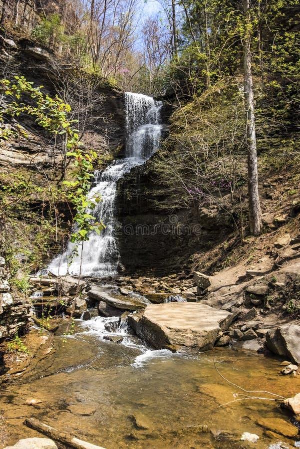 Fiume della cascata della Virginia dell'Ovest nuovo fotografie stock libere da diritti
