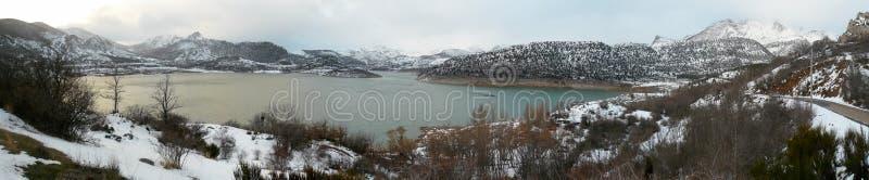 Fiume della palude nell'inverno immagine stock libera da diritti