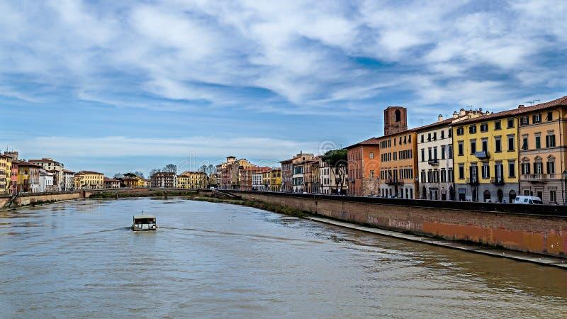 Fiume der Arno stockbilder