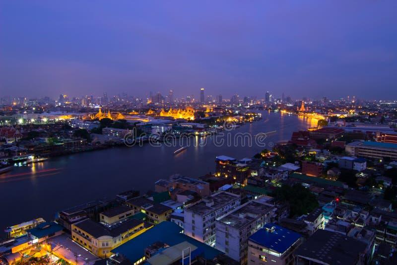 Fiume di Chao Phraya fotografia stock libera da diritti
