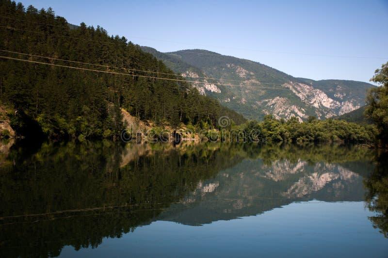 Fiume di Drina immagini stock libere da diritti