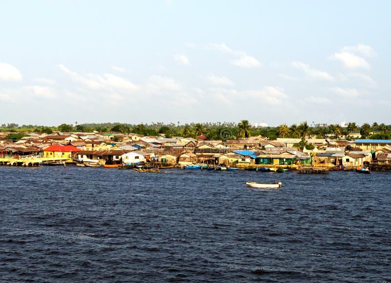 Fiume di Lagos immagini stock libere da diritti