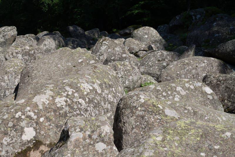 Fiume di pietra, ponti dorati fotografia stock libera da diritti