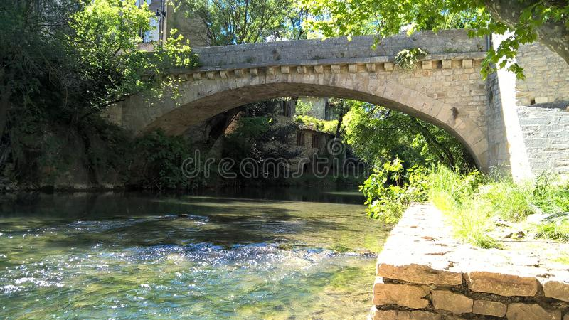 Fiume di Provençal dalla Francia immagini stock
