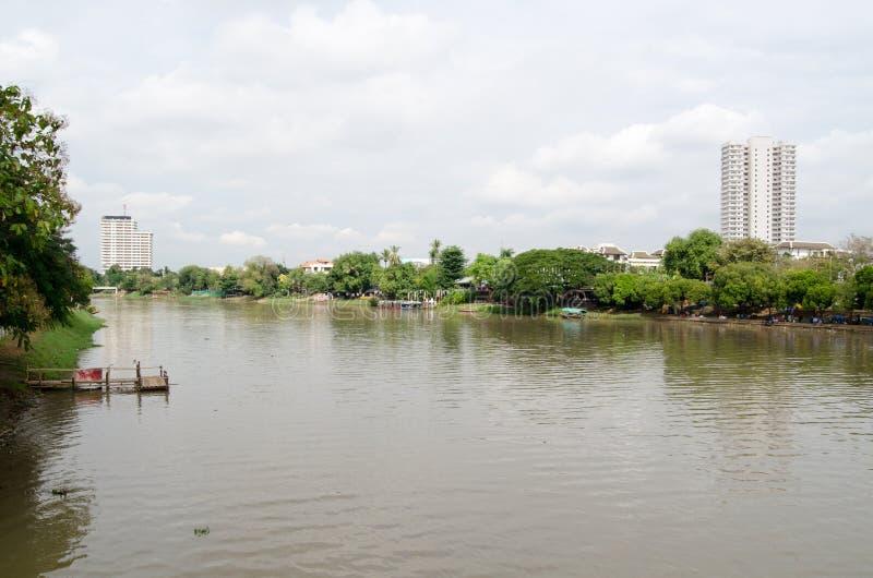 Fiume Di Rumore Metallico, Chiang Mai Fotografia Stock