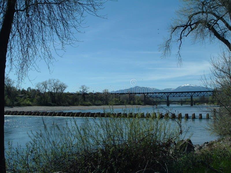 Fiume di Sacramento fotografia stock libera da diritti