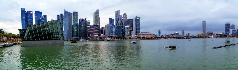 Fiume di Singapore fotografia stock libera da diritti