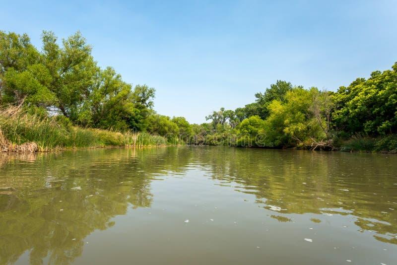 Fiume di Verde, Arizona fotografie stock libere da diritti