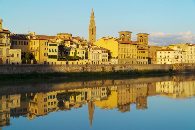 Fiume Firenze, Italia di Arno fotografie stock