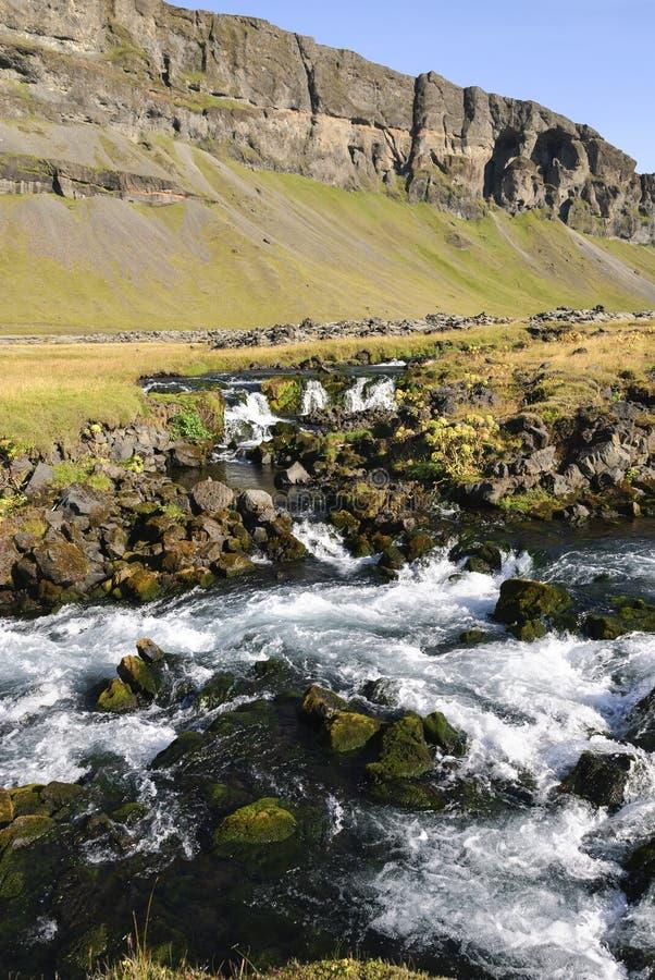 Fiume in Islanda fotografia stock libera da diritti