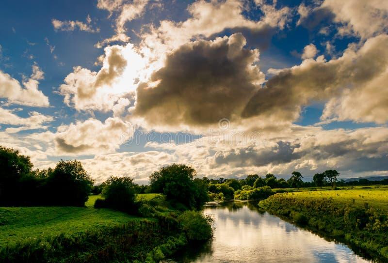 Fiume Severn fotografia stock libera da diritti