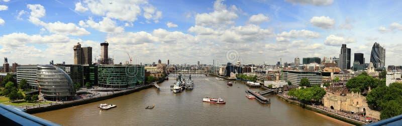Fiume Tamigi di Londra immagine stock