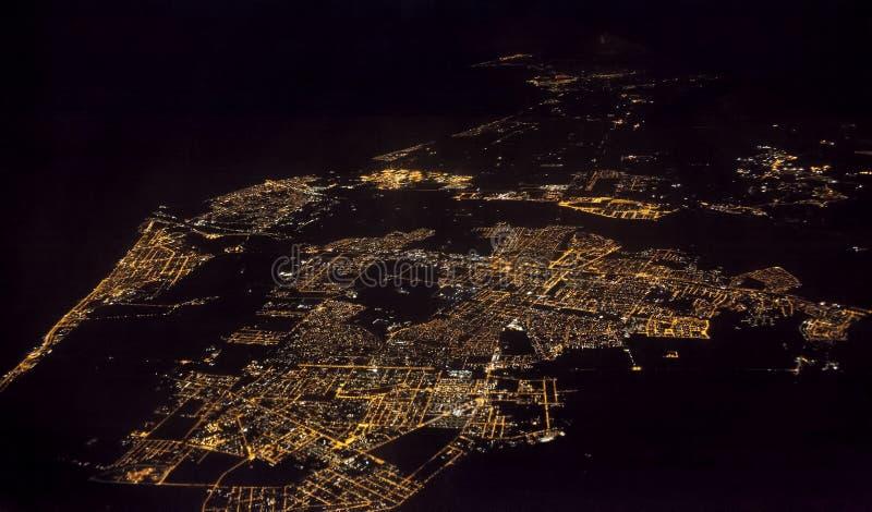 Fiumicino miasto blisko Rzym, Włochy obraz stock