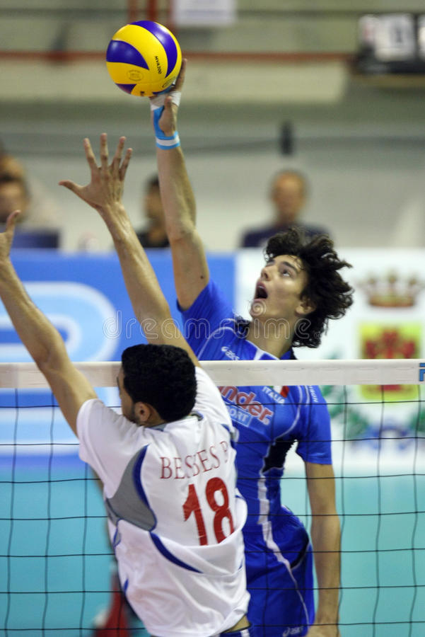 FIVB BOYS YOUTH VOLLEYBALL WORLD CHAMPIONSHIP stock image