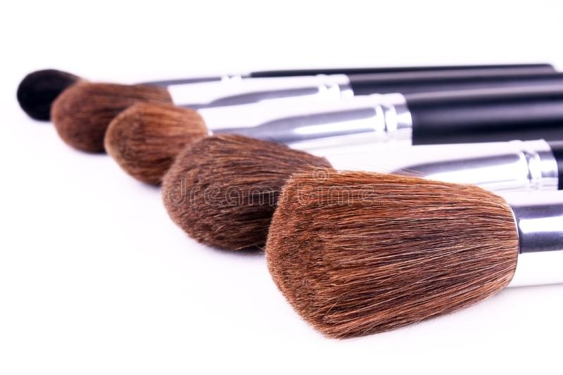 Download Five brushes for makeup stock image. Image of fashion - 8326939