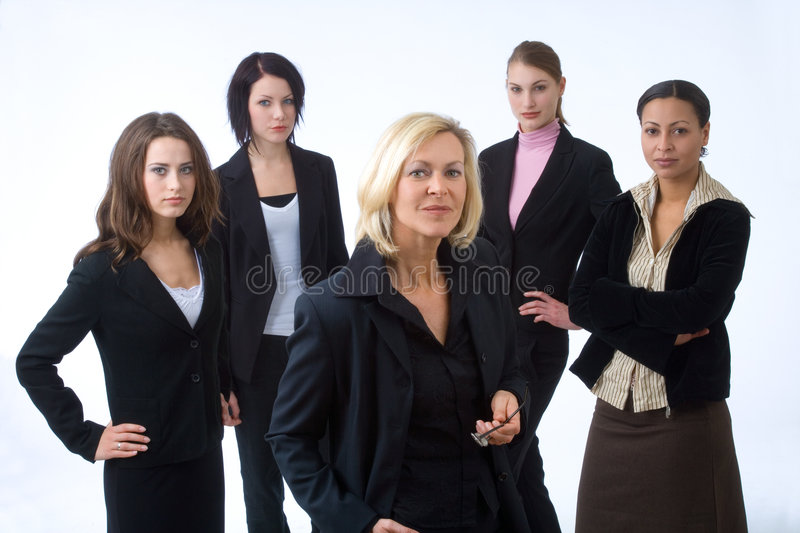 Download Five businesspeople stock photo. Image of african, employment - 2168994