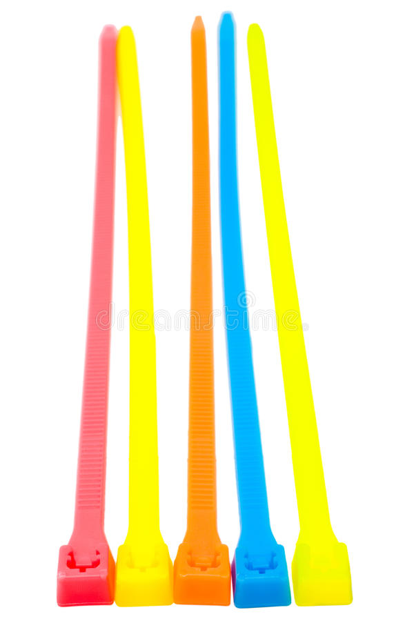 Download Five cable ties stock image. Image of colored, assortment - 27944195