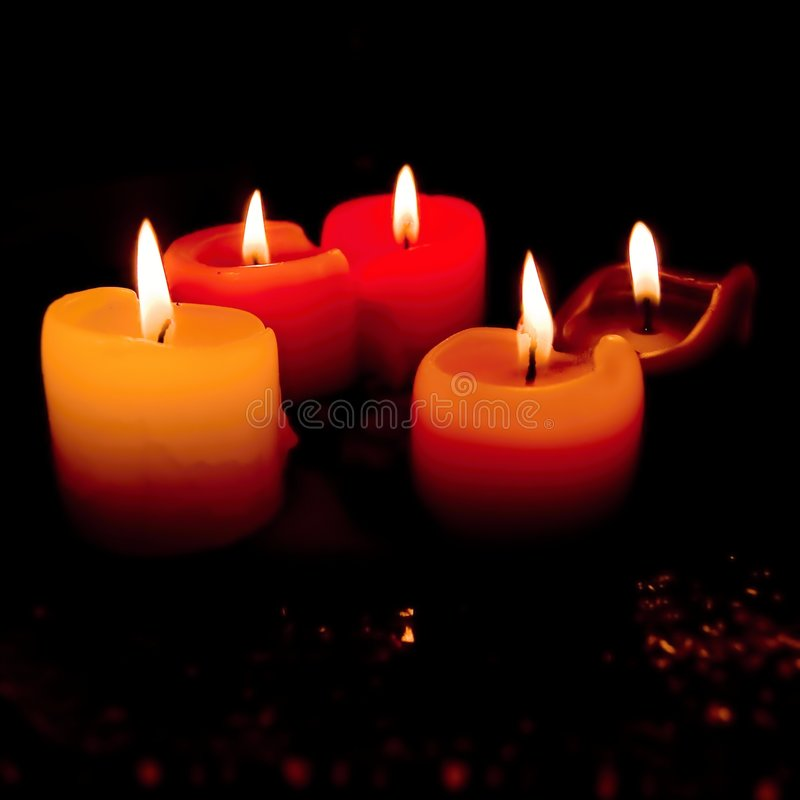 Free Five Candles Royalty Free Stock Image - 6708506