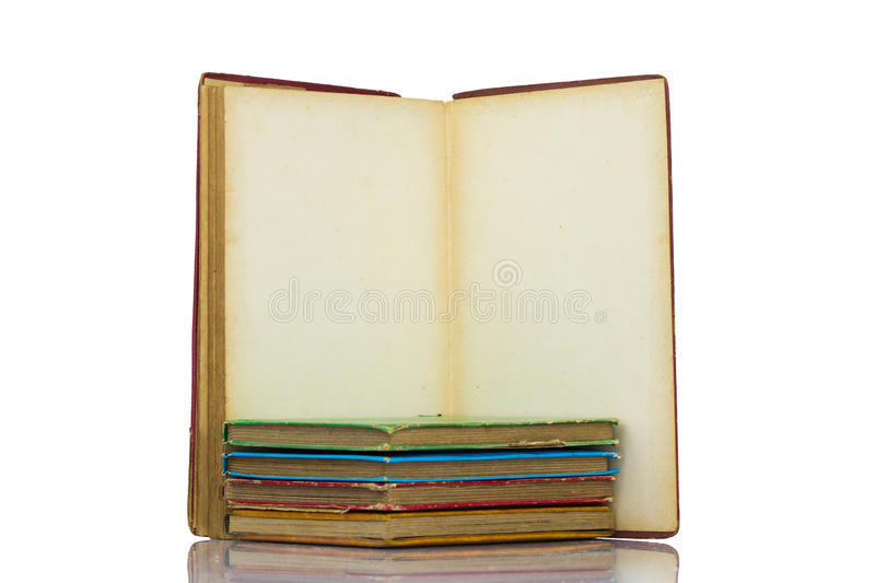 Five Classical Books Stock Image