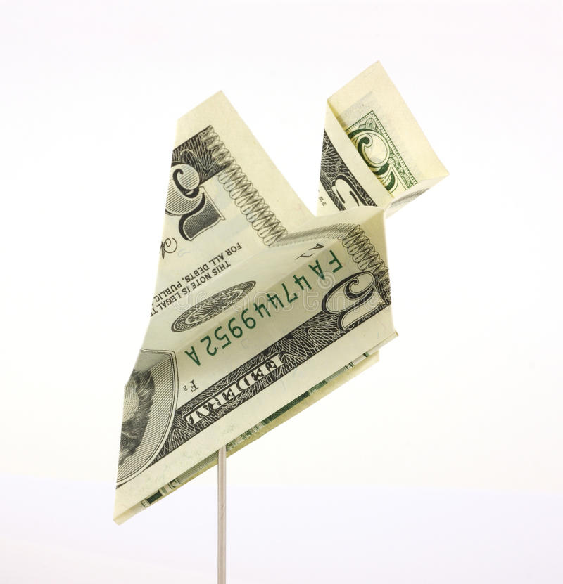 Download Five Dollar Bill Paper Airplane Royalty Free Stock Photo - Image: 11968155