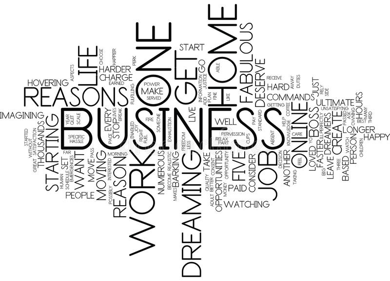Five Fabulous Reasons To Start Your Own Home Based Business Text ...