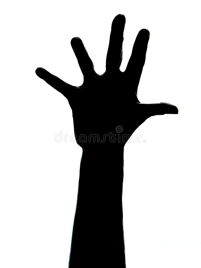 Five fingers vector illustration