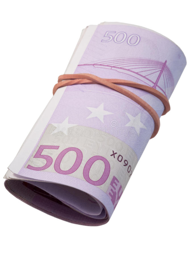 Five-hundred Banknotes Stock Photo