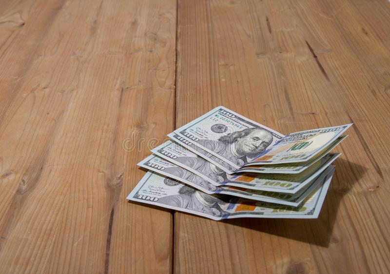 Five hundred dollars royalty free stock image