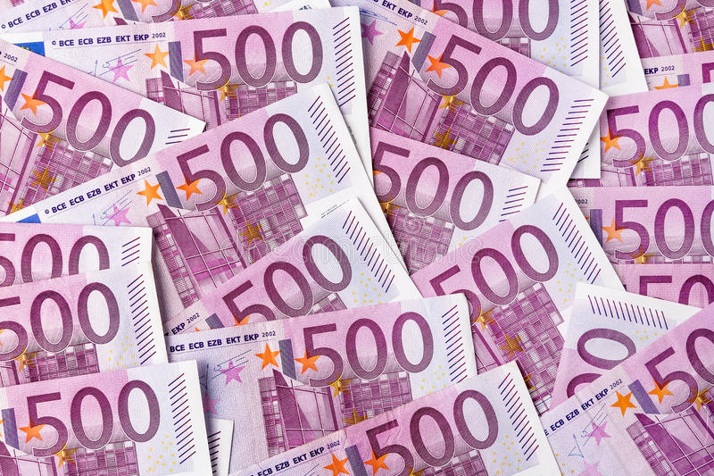 Download Five hundred euro notes stock image. Image of european - 29382509