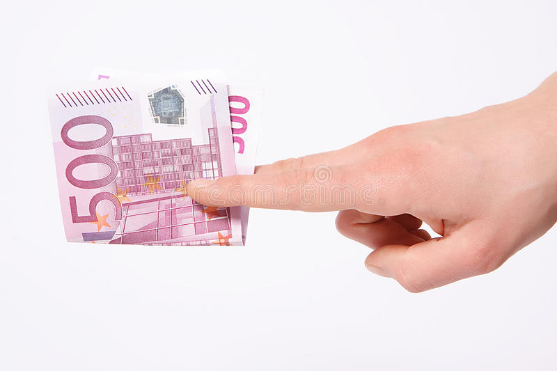 Download Five hundred euros stock image. Image of human, note - 12511555