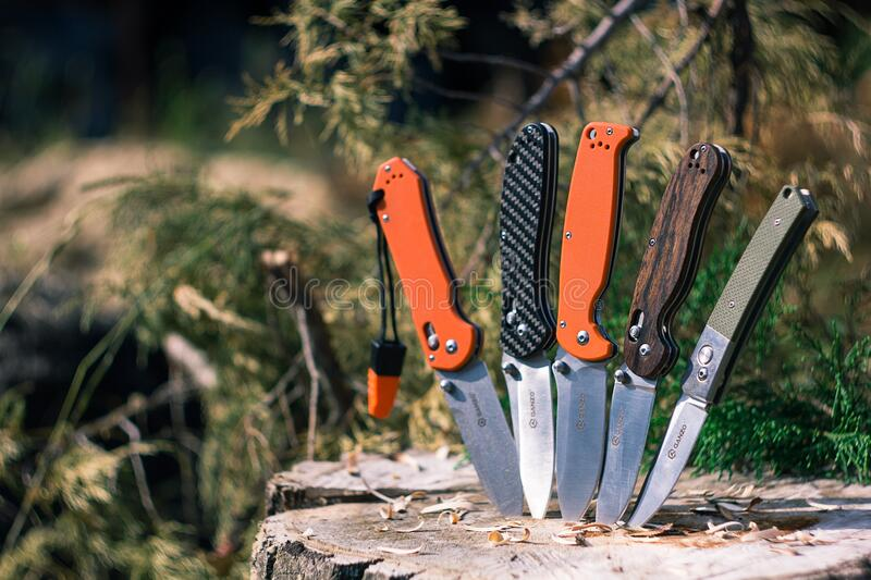 Five Knives For Camping And Use Out Of Doors Free Public Domain Cc0 Image