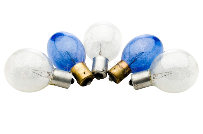 Download Five light bulbs stock photo. Image of electricity, electric - 28005590